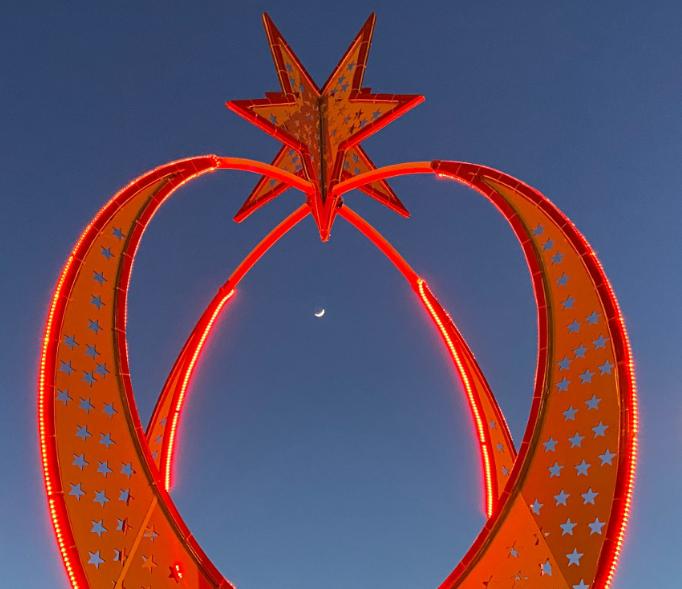 İlçe Meydanına Ay-Yıldız Sembolü